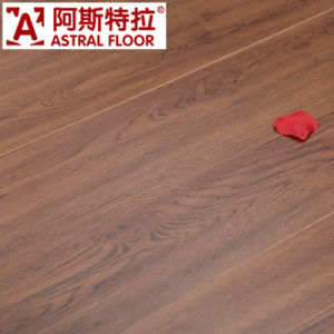 Waxed Big Size Wood Grain Surface (V-Groove) Laminate Flooring (AS92003-7) pictures & photos