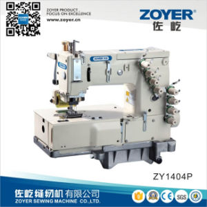 4-Needle Flat-Bed Double Chain Stitch Sewing Machine (ZY 1404P) pictures & photos