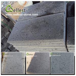 China Bluestone/Basalt/Volcano/Lava Stone Honed Basalt Tile pictures & photos