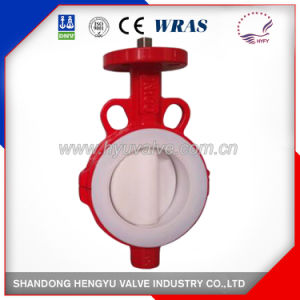 Wafer Type Butterfly Valve with Split Body pictures & photos