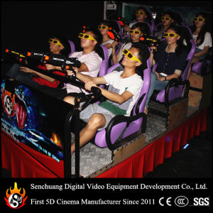 7D Cinema with Gun Special Effect (SCH-7D11)