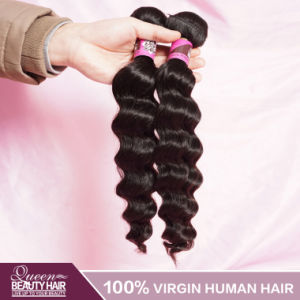 Grade 6A Virgin Hair Peruvian Wavy Hair pictures & photos