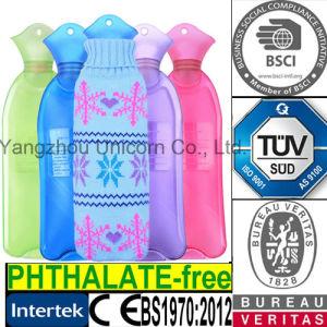 Bottle Shape PVC Hot Water Bottle