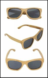 Fashion Design High Quality Wooden Sunglasses Psb02 pictures & photos