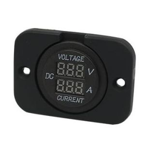 Marine/Car DC Voltmeter with Red LED Digital Meter pictures & photos