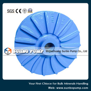 Wear Resistant / Corrosion Resistant Slurry Pump Part Impeller pictures & photos