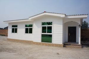 Foamed Cement Board House Samrt Prefabricated Villa pictures & photos