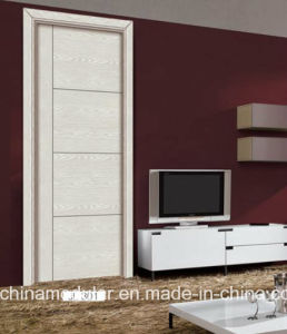 Good Price Melamine Door with Wooden Frame and Architrave (CHAM-MD002) pictures & photos