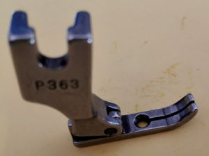 Industry Sewing Machine Parts Presser Foot P-363 pictures & photos