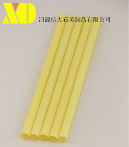 Yellow Quartz Tube for Heating