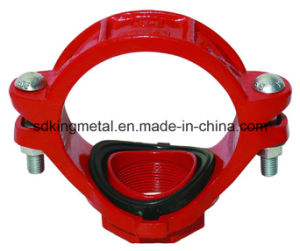 Ductile Iron 300psi NPT Threaded Mechanical Tee pictures & photos