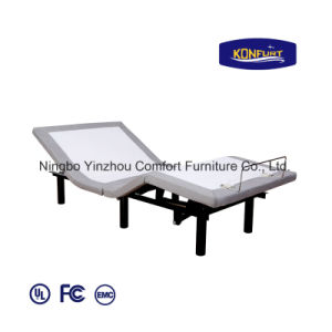 Folding Bed Freightable Bed Electric Adjustable Bed Home Furniture 100f pictures & photos