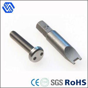 Grade 10.9 Carbon Steel Pan Head Security Bolt Snake Eye Bolts pictures & photos