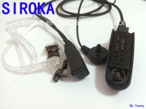 Wholesales Single Air Duct Earphone for Motorola Ht-750, etc. pictures & photos