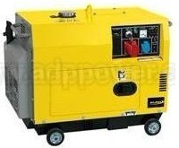 Self Excitation, Single Phase, 60Hz, Air Cooled Diesel Generator (ADP7500T 60Hz)