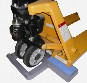 Pallet Jack Stop Pallet Tuck Chock pictures & photos