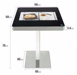 22 Inch Smart Coffee Table LCD Panel Interactive Touch Screen Monitor Kiosk pictures & photos