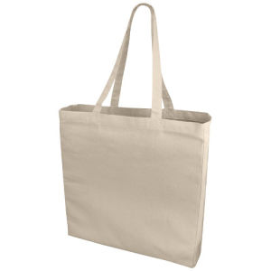 White Canvas Bag Used on Shopper pictures & photos