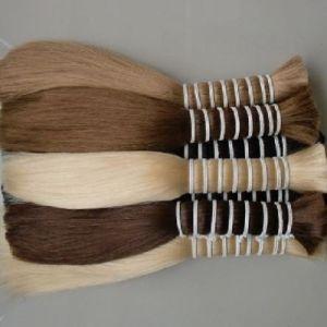100% European Virgin Remy Doule Drawn Human Hair Bulk pictures & photos