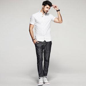 Men Dress Cotton Latest Shirt Designs for Men Hot Sale Men Clothing pictures & photos