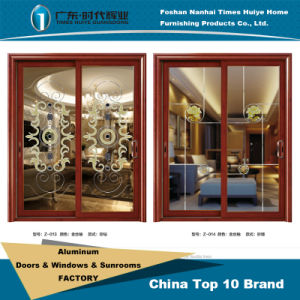 Aluminum Hanging Sliding Metal Door pictures & photos