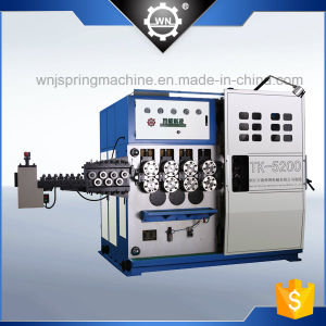 Tk-5200-5 5axis CNC Spring Coiling Machine