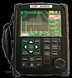 Portable Digital Ultrasonic Flaw Detector Sud50 pictures & photos