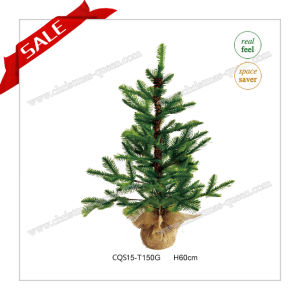 H40-140cm PE Christmas Tree with Snow Artificial Christmas Tree pictures & photos