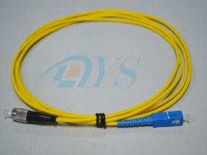 FC-Sc 9/125 Simplex Fiber Optic Patch Cord pictures & photos
