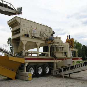 New Type Hard Stone Mobile Cone Crusher Station