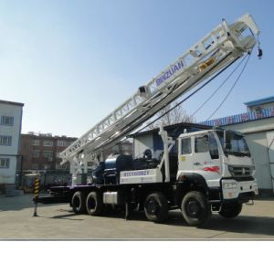 Truck with Water Well Drilling Rig