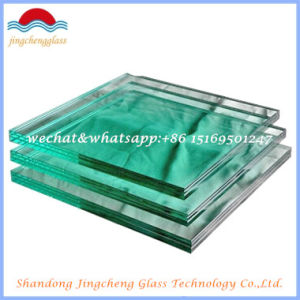 5.38-16.76mm Clear, Grey, Bronze, F Green PVB Safety Laminated Glass pictures & photos