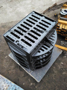 Heavy Duty Ductile Casting Iron Channel Gratings 410X700mm