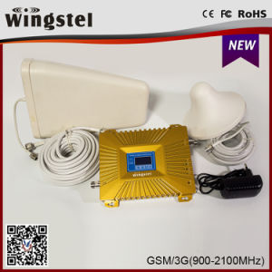 High Quality 900/2100MHz 3G 4G Mobile Signal Booster with Antenna pictures & photos