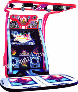 Arcade Coin Operated Dancing Game Machine pictures & photos