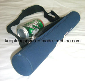 Fashionable Six Cans Neoprene Can Cooler with Shoulder Belt