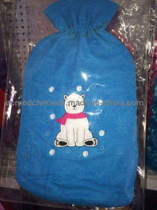 Plush/Fleece/Knitted/ Patterns Cover for Hot Water Bottle pictures & photos