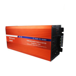 Hyb-5000 DC to AC Uninterruptible Power Inverter with Switch pictures & photos