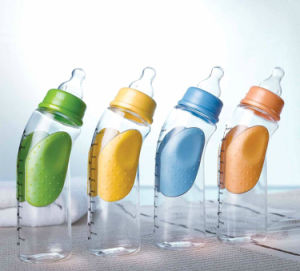 New Products! Hot Selling PP Material 240ml Anti-Slip Baby Feeding Bottle pictures & photos