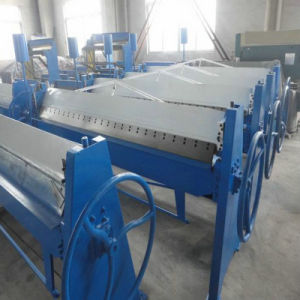 Hand Type Steel Plate Folding and Bending Machine pictures & photos
