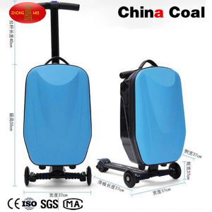 Cw-Ss-D Business Travel Luggage Suitcase Scooter pictures & photos