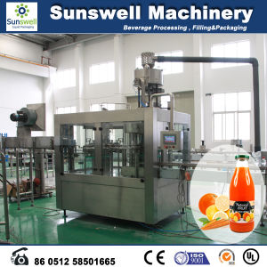 Automatic Juice and Tea Beverage Filling Machine and Production Line pictures & photos