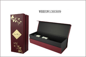 Manufacturer Folding Gift Paper Wine Box
