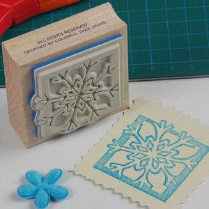America Maple Stamp-Christmas Series Stamp-Wooden Rubber Stamp pictures & photos