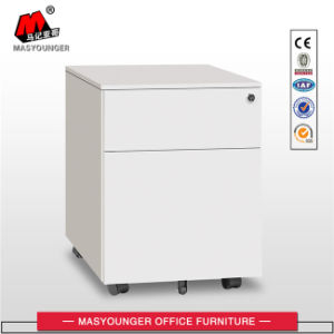 Office Furniture 2 Drawer Metal Mobile Pedestal Cabinet pictures & photos
