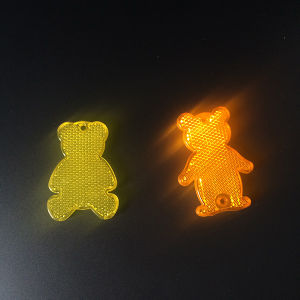 Bear Shaped Plastic/PMMA/Acrylic Reflective Hanger Hard Reflector pictures & photos
