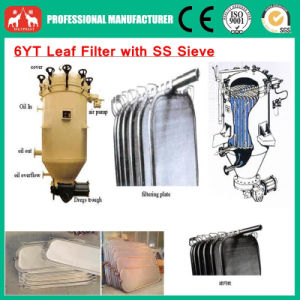 2016 Stainless Vertical Presure Leaf Filter for Oil Industry pictures & photos