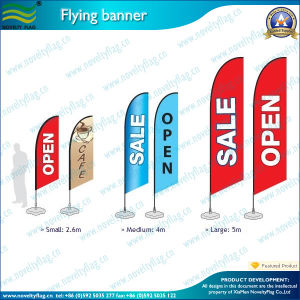 Screen or Digital Printed Custom Feather Flag (NF04F06023) pictures & photos