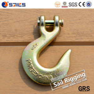 Forged Carbon Steel Galvanized Clevis Slip Lifting Hooks pictures & photos