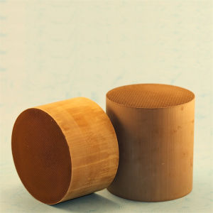 Honeycomb Catalyst for Vehicle Exhaust System Ceramic and Metal Material pictures & photos